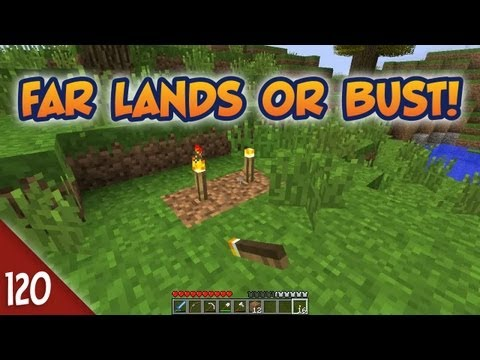 Minecraft Far Lands or Bust #120 - Left Behind
