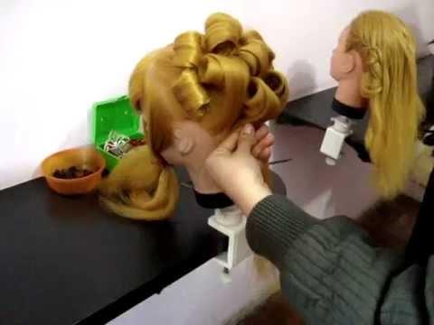 penteados Coque Grego Escola Martha Neves