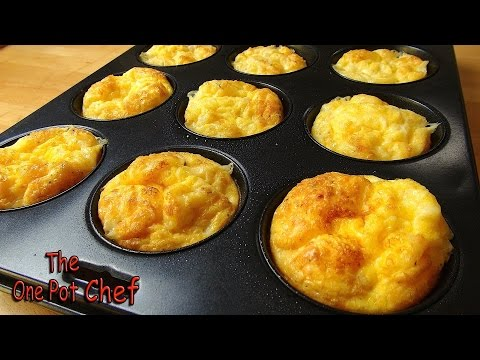 Oven Baked Mini Omelettes | One Pot Chef - UCYvqEiyy1pr5Sel8OtEuoeQ