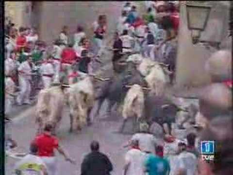 Encierro San Fermín - 13 Julio 2006