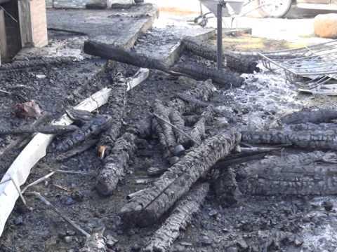 Семья с ребенком погибла на пожаре в поселке Красный Бакен