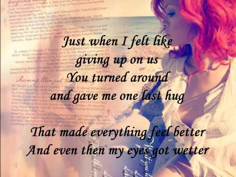 Rihanna - California King Bed (FULL HD   Official Lyrics)