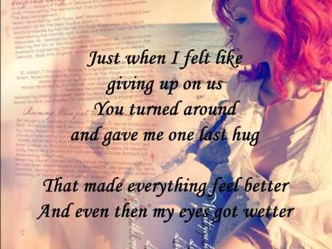 Rihanna - California King Bed (FULL HD   Official Lyrics)