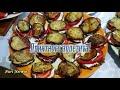 Фрагмент с конца видео Баклажаны с помидорами и чесноком рецепт