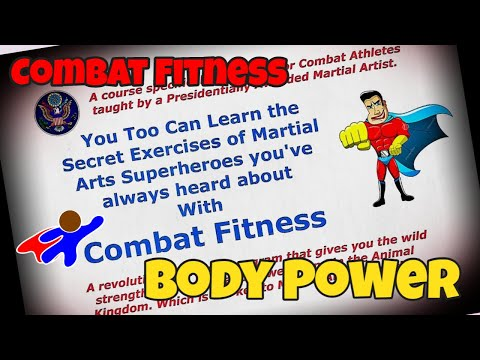 Combat Fitness-Body Power-Tiger Push ups - Jim Brassard