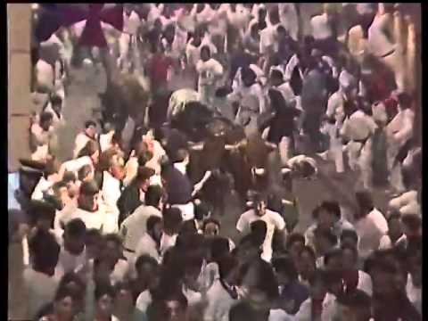 Encierro San Fermín   12 de julio de 1991 480p
