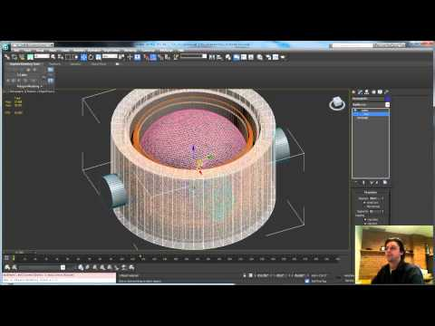 3ds Max Tutorial: Animating Creation in 3ds Max pt1: microphone barrel