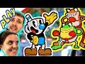 БолтушкА, ПРоХоДиМеЦ и ЧашкоГоловые ищут Новые ПРИКЛЮЧЕНИЯ! #240 Игра для Детей -  Капхед