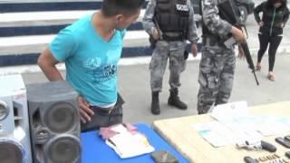 se realiza informe policial del 9 de julio varios casos presentados.mpg