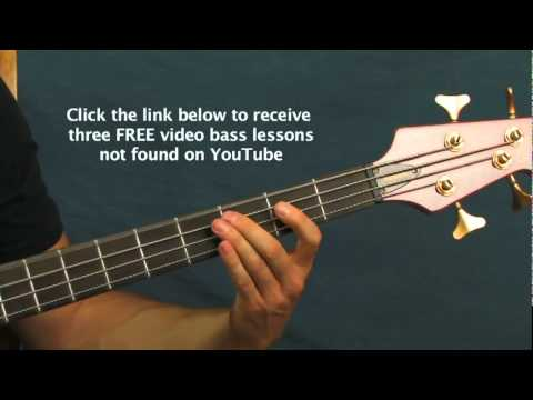 online bass guitar lesson plush stone temple pilots