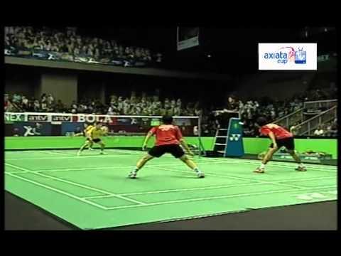 Setiawan/Ahsan vs Lim/Goh - Semi Final I - Axiata Cup 2012