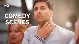 Best Comedy Scenes  Akshay Kumar  Paresh Rawal  Govinda  Bhagam  Bhag  Bollywood Comedy Film