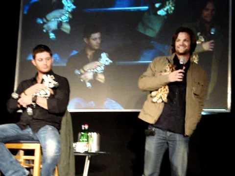 JIB2 Saturday Panel - Jared Padalecki & Jensen Ackles, Part 1
