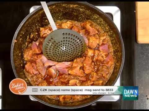 Chef Zakir's Kitchen Recipes - December 22, 2015 Dawn News TV