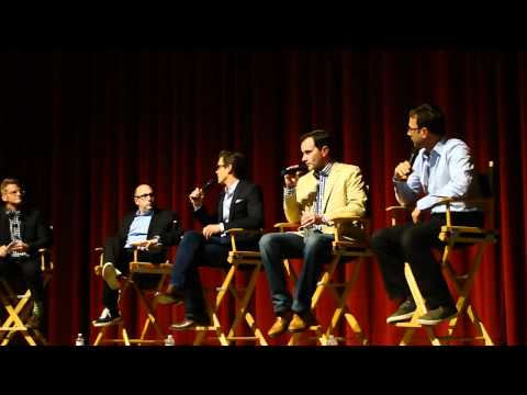 The Cast of White Collar Matthew Bomer, tim dekay, willie garson at a SAG Emmy Q and A