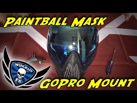 How to Mount a GoPro to a Paintball Mask
