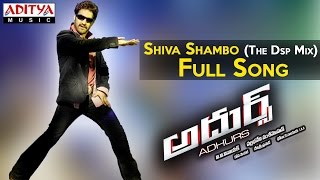 Shiva Shambo The Dsp Mix Full Song II Adhurs