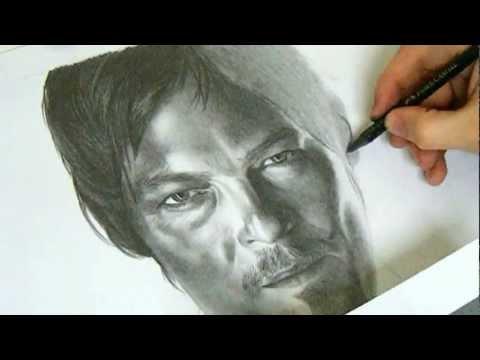MikeysTube draws....Daryl Dixon (The Walking Dead)