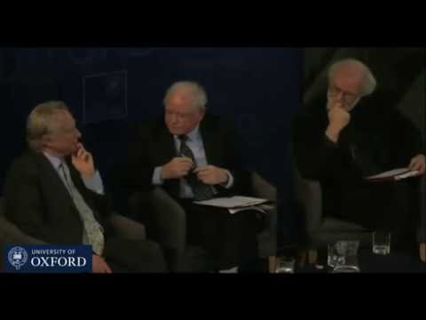 Richard Dawkins & Rowan Williams Archbishop of Canterbury discuss human nature & ultimate origin