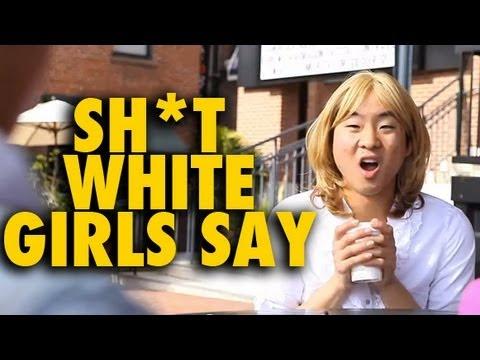 Shit White Girls Say to Asian Guys (Shit Girls Say Parody) - Fung Brothers