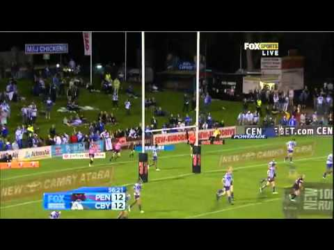 NRL 2012 Round 1 Highlights: Panthers V Bulldogs