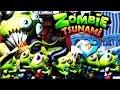 Zombie Tsunami #6 Игровой мультик для детей про зомби, веселый детский мультик игра для малышей