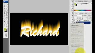 Photoshop Tutorial - Flame Effect