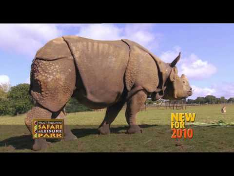 West Midlands Safari Park - Armoured Rhinos - TV commercial