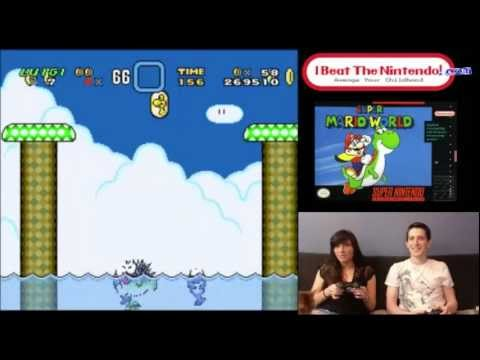 Super Mario World: Meaghan Gets Trapped Underwater