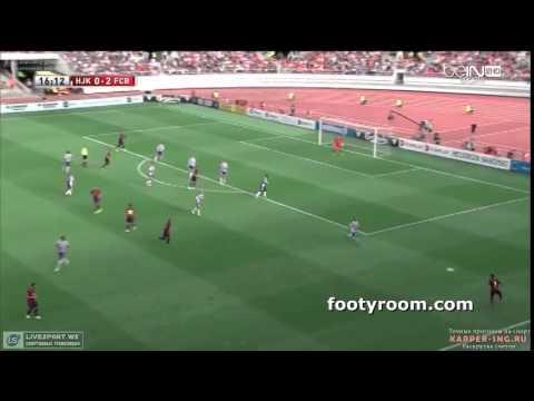 فيديو: برشلونة تفوز ودياً على هيليسنكي بنصف دستة أهداف