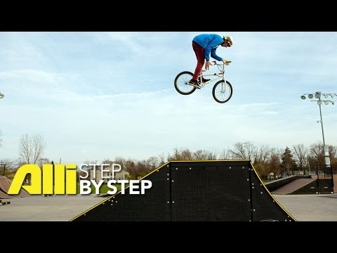 Alli BMX Videos - Step By Step: Brett Banasiewicz BMX Trick TIp - How to do a Truckdriver