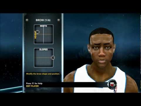 NBA 2K12 - How To Create Brandon Knight