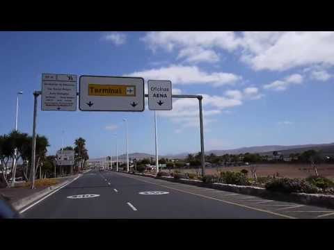 Driving to Fuerteventura Airport