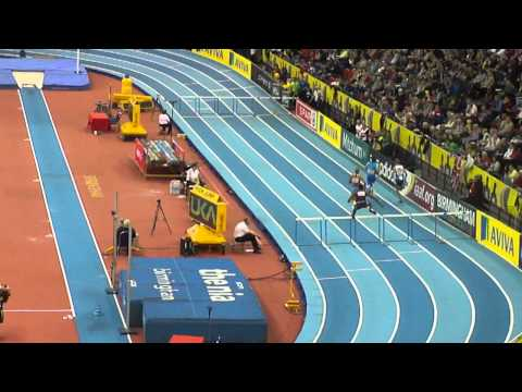 Mens 400m Hurdles Indoor, Aviva Grand Prix 2011
