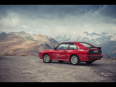 Tag sechs der Audi Land of quattro Alpen Tour 2013