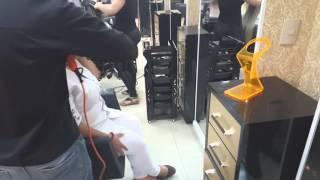 Suporte universal de bancada para secador