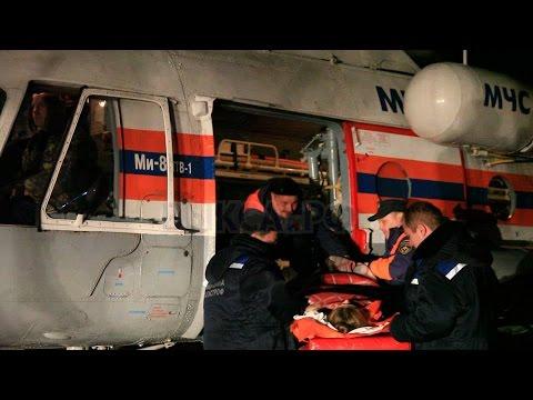 Вертолет МИ-8 забрал изВыксы вобластную клинику 2-х пострадаших вДТП под Навашино
