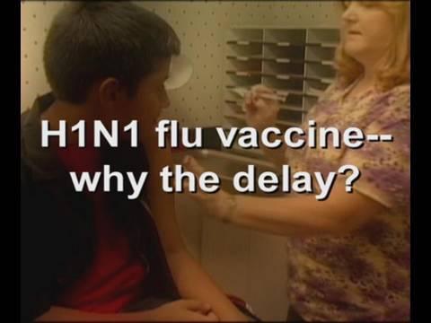 H1N1 flu vaccine—why the delay?
