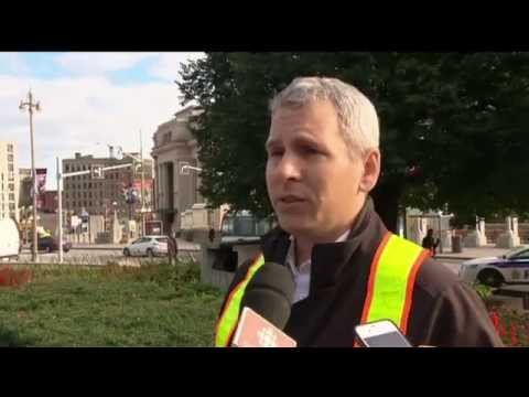RAW: Ottawa shooting witness clips