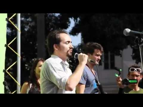 Occupy LA! -World Solidarity March with Peter Joseph of The Zeitgeist Movement