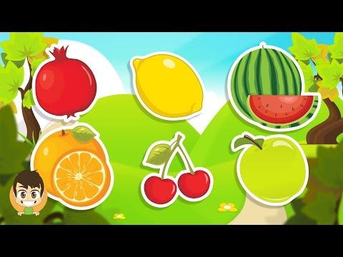 Learn Fruits in Arabic for Kids - تعليم أسماء الفواكه للاطفال باللغة العربية