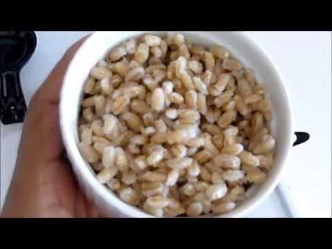 How to Cook Barley in 15 minutes! =)