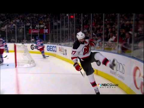 Ilya Kovalchuk PPG goal. New Jersey Devils vs NY Rangers Game 2 5/16/12 NHL Hockey