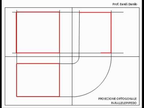 Proiezione ortogonale parallelepipedo