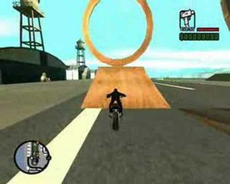 GTA San Andreas SAMP Bike Stunt
