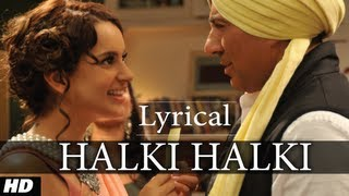 Halki Halki I Love New Year Full Song with Lyrics