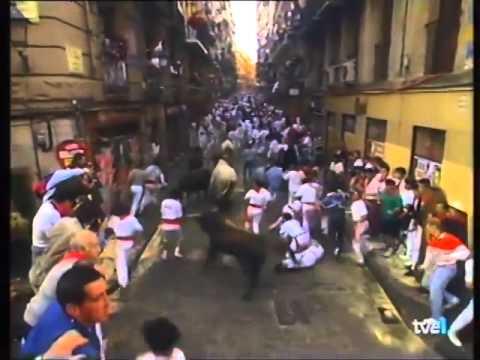 Encierro de San Fermín   12 de julio de 1994 480p