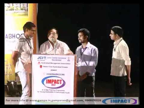 BE A WINNER PART {2} by Sri YANDAMOORI VEERENDRANATH    at IMPACT 2012 HYDERABAD