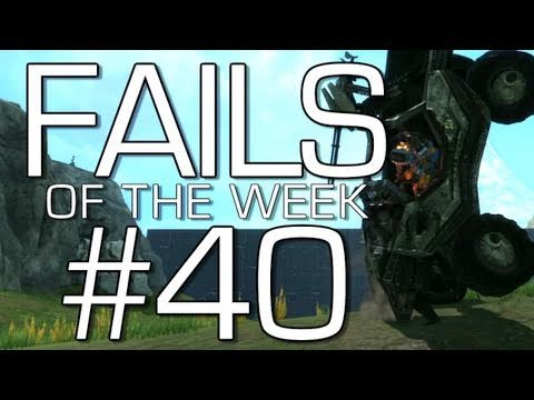 Halo: Reach - Fails of the Weak Volume 40 (Funny Halo Screw Ups and Bloopers!)