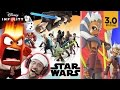 Disney Infinity 3.0 - STAR WARS!! Twilight of the Republic Play Set w/ Inside Out & Marvel Toys